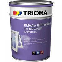 Эмаль для окон и дверей белая  TRIORA