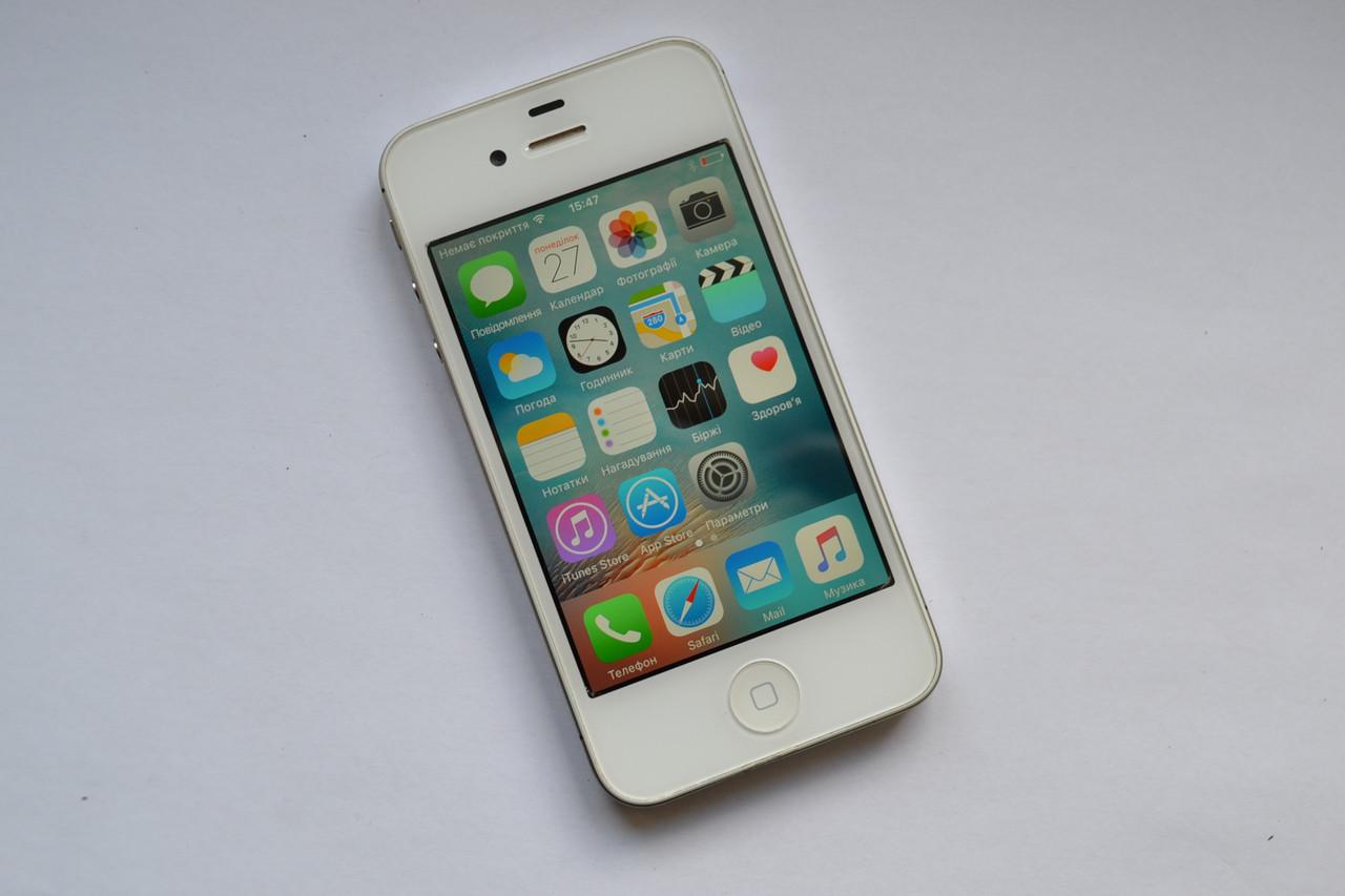 apple iphone 4 16gb white neverlock