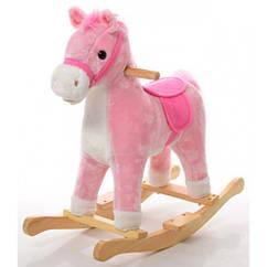 Качалка-лошадка MP 0080P (Розовый)