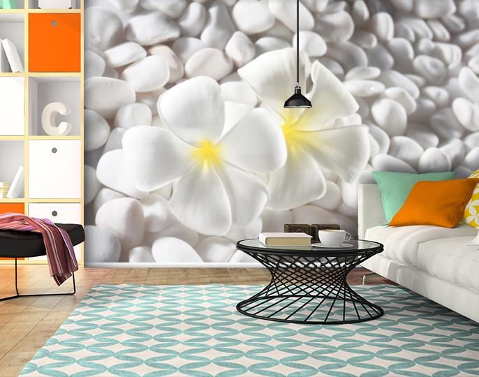 Фотообои бумажные гладь, Цветы, 200х310 см, fo01inB_fl102498