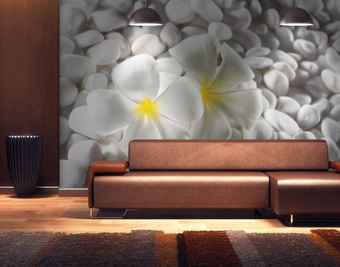 Фотообои текстурированные, виниловые Цветы, 250х380 см, fo01inV_fl102498