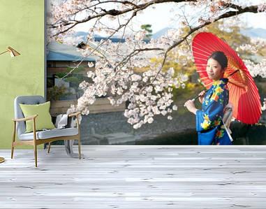 Фотообои текстурированные, виниловые Азия, 250х380 см, fo01inV_df13038