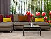 Фотообои текстурированные, виниловые Цветы, 250х380 см, fo01inV_fl12624, фото 3