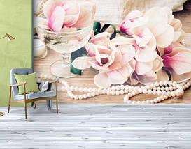 Фотообои текстурированные, виниловые Цветы, 250х380 см, fo01inV_fl13604, фото 3
