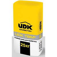 Клей для газобетона UDK 25 кг