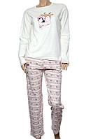 Пижама Женский 100% хлопок молочный Fawn все размеры  XL (48/50)