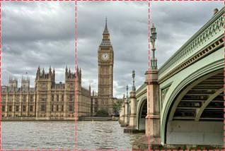 Фотообои текстурированные, виниловые Биг-Бен, 250х380 см, fo01inV_bb00008, фото 2
