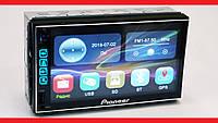 "2din Pioneer 7024 GPS Магнитола 7"" Экран (Короткая база), фото 1"