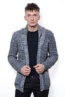Кофта Мужской 50% шерсть, 50% акрил серый Ramali все размеры  L-XL