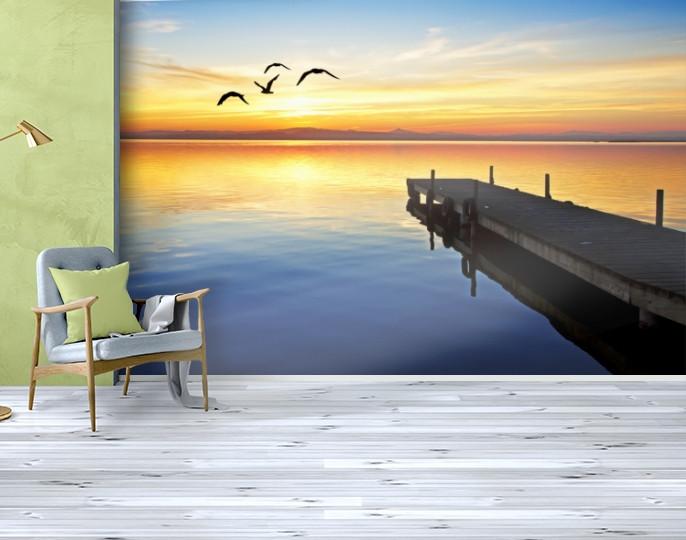 Фотообои текстурированные, виниловые Море, 250х380 см, fo01inV_mp11809