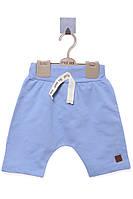 Шорты для ребёнка/мальчик 95 % хлопок, 5% эластан голубой MOI NOI все размеры  5 лет (110 см)