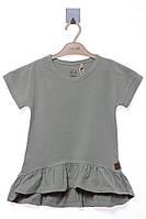 Платье для ребёнка/девочка - хаки MOI NOI /размеры/ 5 лет (110 см)