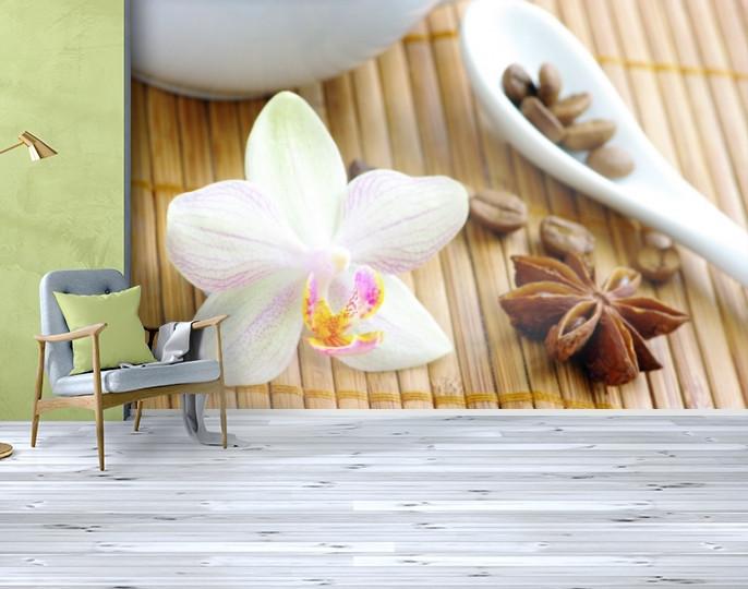 Фотообои текстурированные, виниловые Цветы, 250х380 см, fo01inV_fl12872
