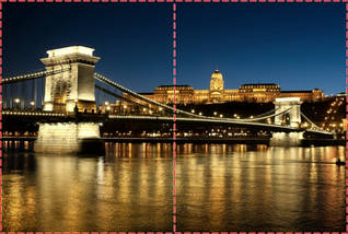Фотообои бумажные гладь, Мосты, 200х310 см, fo01inB_br00375, фото 2