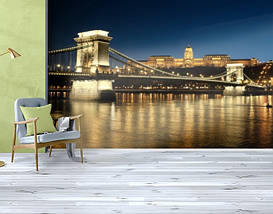 Фотообои бумажные гладь, Мосты, 200х310 см, fo01inB_br00375, фото 3
