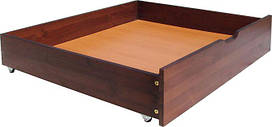 Комплект дерев'яних ящиків для ліжок з Вільхи , висотою 16 см(для Амелі і Амелі Эктра)