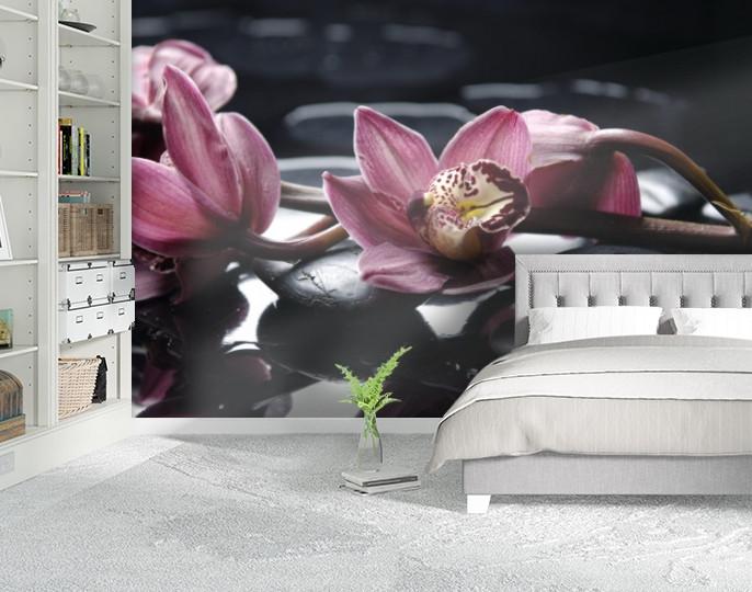 Фотообои текстурированные, виниловые Цветы, 250х380 см, fo01inV_fl102909