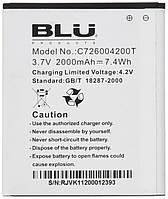 Аккумулятор BLU C726004200T (2000 mAh). Батарея BLU C726004200T для Dash 5.0. Original АКБ (новая)