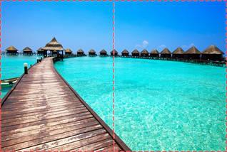 Фотообои бумажные гладь, Море, 200х310 см, fo01inB_mp11630, фото 2