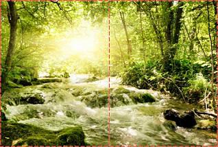 Фотообои бумажные гладь, Горы, реки, 200х310 см, fo01inB_pr11304, фото 2