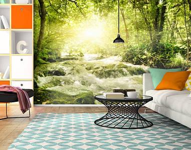 Фотообои текстурированные, виниловые Горы, реки, 250х380 см, fo01inV_pr11304