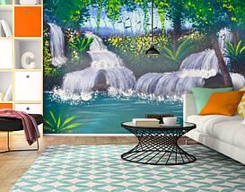 Фотообои текстурированные, виниловые Водопады, 250х380 см, fo01inV_wf00343, фото 3