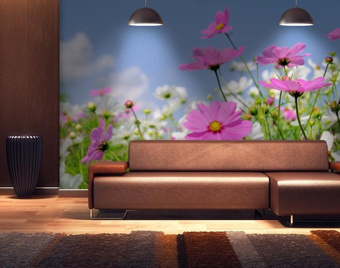 Фотообои текстурированные, виниловые Цветы, 250х380 см, fo01inV_fl102515