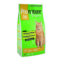Сухой корм для кошек Pronature Original КУРИЦА СУПРИМ 5.44кг.