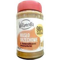 Vitanella Maslo Orzechowe – арахисовая паста с кусочками арахиса, 450 гр. Польша