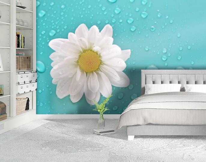 Фотообои текстурированные, виниловые Цветы, 250х380 см, fo01inV_fl102364