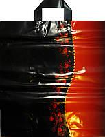 Пакет петля Авентин 40*43 Красное черное