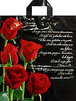 Пакет петля Авентин 40*43 Роза