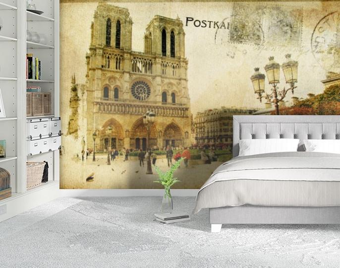 Фотообои текстурированные, виниловые Город, 250х380 см, fo01inV_st00007