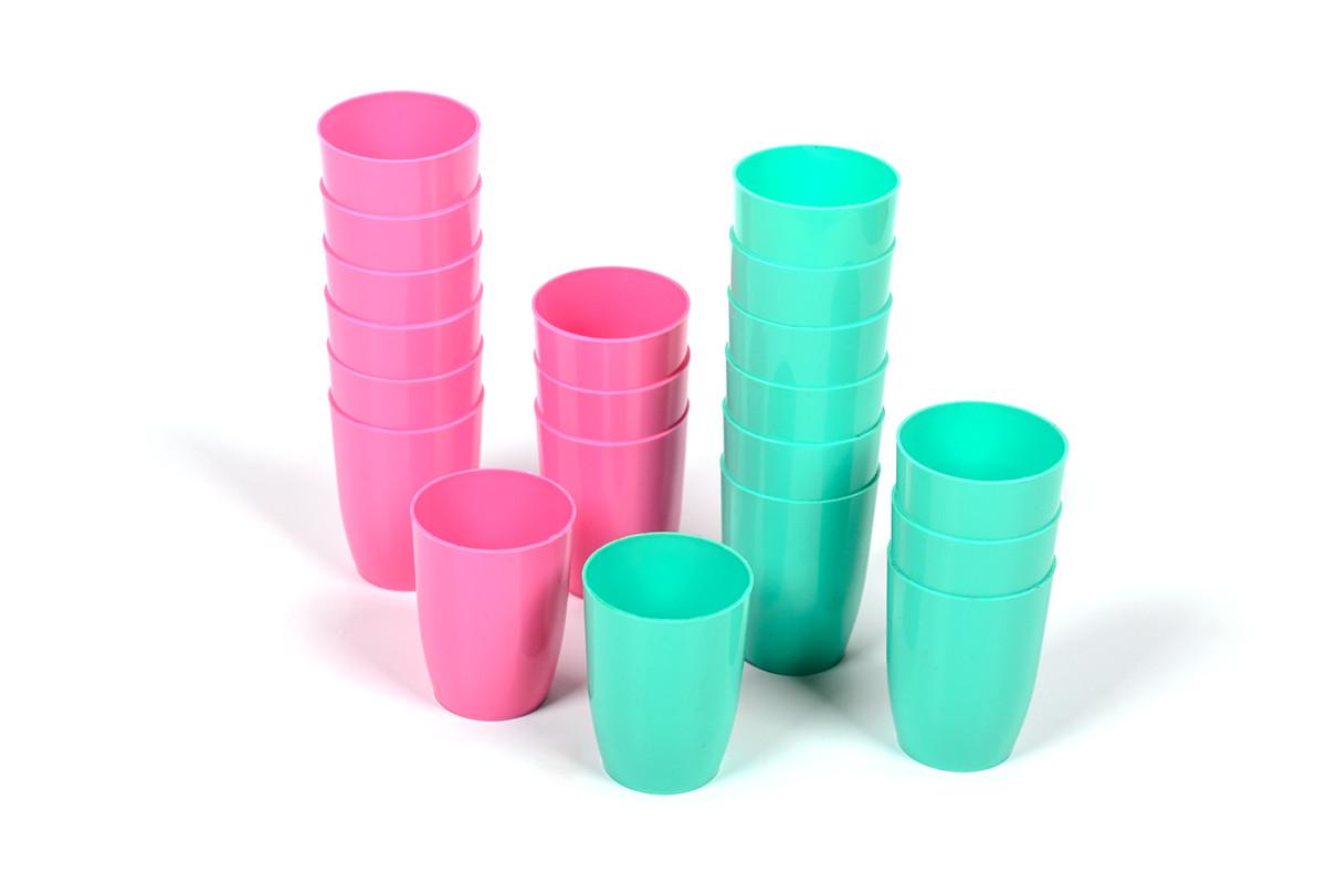 Стопка пластиковая цветная 50мл