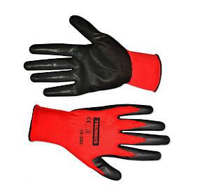 Перчатки рабочие Technics маслостойкий нитрил S-M (16-206)