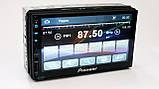 2din Pioneer 7023 GPS Автомагнитола USB+SD+Bluetooth (Короткая база), фото 5