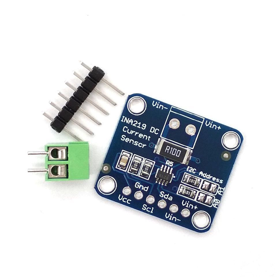 Цифровий датчик струму і напруги на INA219 з шиною I2C