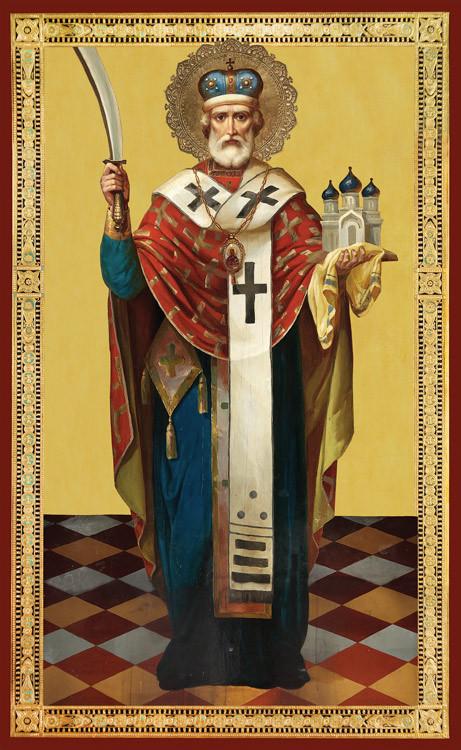 Ікона Святий Миколай Чудотворець Можайський