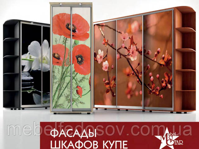 фасады для шкафов купе фабрики мебель стар