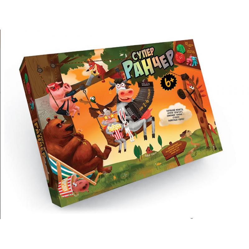Настольная развлекательная игра Danko Toys Супер Ранчер