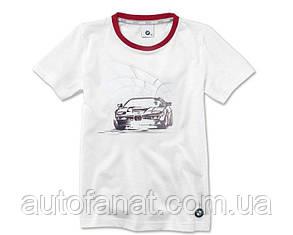 Оригинальная детская футболка BMW Graphic T-Shirt, Kids, White (80142454775)