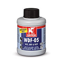 Клей для гибкой ПВХ трубы Griffon WDF-05, 500 мл (с кисточкой)
