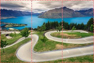 Фотообои текстурированные, виниловые Горы, реки, 250х380 см, fo01inV_pr10865, фото 2