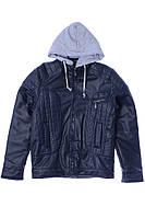 Куртка для ребёнка/мальчик 100% коттон деним Синий AVM Teks все размеры  13 лет (158 см)