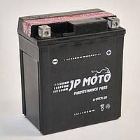 Аккумулятор мотоциклетный JP Moto 6Ah-12v YTX7L-BS , 12В, 6Ач, EN85А