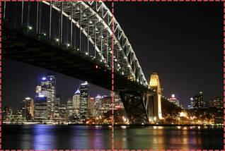Фотообои бумажные гладь, Мосты, 200х310 см, fo01inB_br00002, фото 2