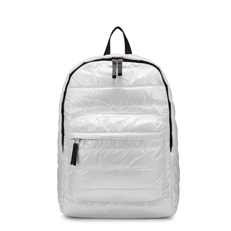 Рюкзак стеганный белый Realer(AV190)
