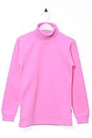 Гольф для ребёнка/девочка 100% хлопок Розовый bbr все размеры  11 лет (146 см)