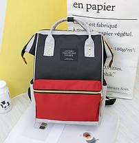Каркасный трансформер сумка-рюкзак Цветной, фото 3