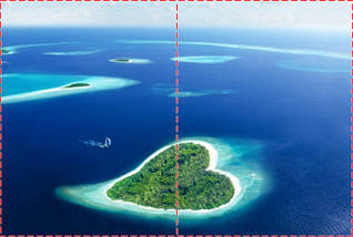 Фотообои бумажные гладь, Море, 200х310 см, fo01inB_mp11400, фото 2